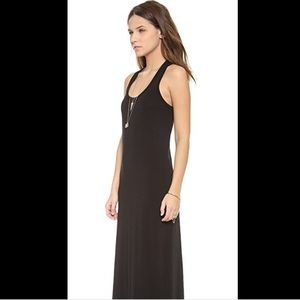 SPLENDID MAXI TANK DRESS IN BLACK